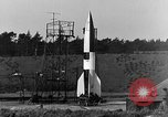 Image of A-4 missile Peenemunde Germany, 1942, second 6 stock footage video 65675078013