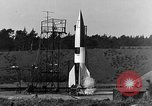 Image of A-4 missile Peenemunde Germany, 1942, second 7 stock footage video 65675078013