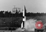 Image of A-4 missile Peenemunde Germany, 1942, second 9 stock footage video 65675078013