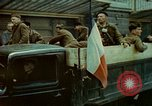 Image of French soldiers Paris France, 1945, second 1 stock footage video 65675078059