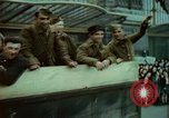 Image of French soldiers Paris France, 1945, second 4 stock footage video 65675078059