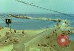 Image of bombed breakwater Italy, 1944, second 1 stock footage video 65675078061