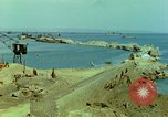 Image of bombed breakwater Italy, 1944, second 5 stock footage video 65675078061