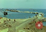Image of bombed breakwater Italy, 1944, second 7 stock footage video 65675078061