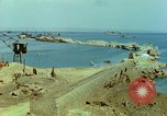 Image of bombed breakwater Italy, 1944, second 9 stock footage video 65675078061