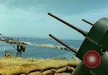 Image of bombed breakwater Italy, 1944, second 10 stock footage video 65675078061