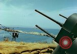 Image of bombed breakwater Italy, 1944, second 11 stock footage video 65675078061