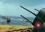 Image of bombed breakwater Italy, 1944, second 12 stock footage video 65675078061