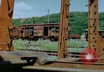 Image of marshaling yard Italy, 1944, second 10 stock footage video 65675078065