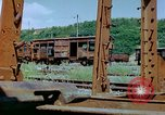 Image of marshaling yard Italy, 1944, second 12 stock footage video 65675078065
