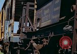 Image of marshaling yard Italy, 1944, second 12 stock footage video 65675078067