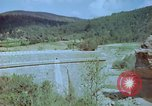 Image of damaged railroad track Italy, 1944, second 7 stock footage video 65675078070