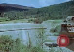 Image of damaged railroad track Italy, 1944, second 8 stock footage video 65675078070