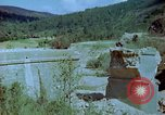 Image of damaged railroad track Italy, 1944, second 10 stock footage video 65675078070