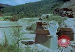 Image of damaged railroad track Italy, 1944, second 12 stock footage video 65675078070