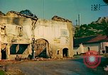 Image of burned buildings France, 1944, second 5 stock footage video 65675078074