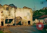 Image of burned buildings France, 1944, second 7 stock footage video 65675078074