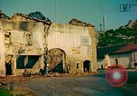 Image of burned buildings France, 1944, second 8 stock footage video 65675078074