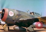 Image of P-47 aircraft Corsica France, 1944, second 5 stock footage video 65675078083