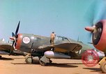 Image of P-47 aircraft Corsica France, 1944, second 12 stock footage video 65675078083