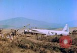 Image of Wellington bomber Corsica France, 1944, second 9 stock footage video 65675078085