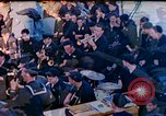 Image of navy band English Channel, 1944, second 1 stock footage video 65675078098