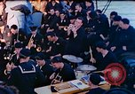 Image of navy band English Channel, 1944, second 3 stock footage video 65675078098
