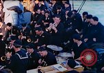 Image of navy band English Channel, 1944, second 4 stock footage video 65675078098