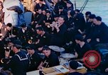 Image of navy band English Channel, 1944, second 5 stock footage video 65675078098