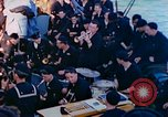 Image of navy band English Channel, 1944, second 6 stock footage video 65675078098