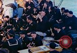 Image of navy band English Channel, 1944, second 7 stock footage video 65675078098