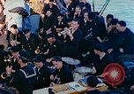 Image of navy band English Channel, 1944, second 8 stock footage video 65675078098