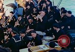 Image of navy band English Channel, 1944, second 9 stock footage video 65675078098