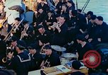 Image of navy band English Channel, 1944, second 10 stock footage video 65675078098