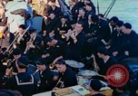 Image of navy band English Channel, 1944, second 11 stock footage video 65675078098