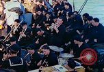 Image of navy band English Channel, 1944, second 12 stock footage video 65675078098