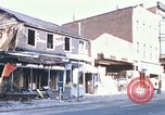 Image of damaged stores Washington DC, 1968, second 1 stock footage video 65675078124