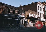 Image of damaged stores Washington DC, 1968, second 4 stock footage video 65675078124