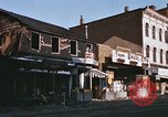 Image of damaged stores Washington DC, 1968, second 10 stock footage video 65675078124