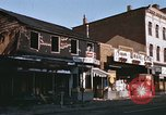 Image of damaged stores Washington DC, 1968, second 12 stock footage video 65675078124
