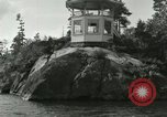 Image of bank of a river United States USA, 1919, second 7 stock footage video 65675078136