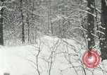 Image of snow forest Detroit Michigan USA, 1919, second 1 stock footage video 65675078142