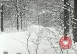 Image of snow forest Detroit Michigan USA, 1919, second 6 stock footage video 65675078142