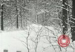 Image of snow forest Detroit Michigan USA, 1919, second 7 stock footage video 65675078142