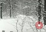 Image of snow forest Detroit Michigan USA, 1919, second 8 stock footage video 65675078142
