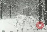 Image of snow forest Detroit Michigan USA, 1919, second 11 stock footage video 65675078142