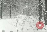 Image of snow forest Detroit Michigan USA, 1919, second 12 stock footage video 65675078142