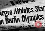 Image of Jesse Owens Berlin Germany, 1945, second 1 stock footage video 65675078147