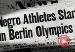 Image of Jesse Owens Berlin Germany, 1945, second 2 stock footage video 65675078147