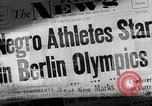 Image of Jesse Owens Berlin Germany, 1945, second 3 stock footage video 65675078147